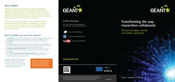 Transforming the way researchers collaborate - Géant