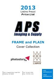 FRAME and PLAIN - APS Imaging Solutions