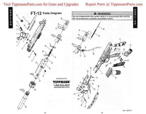 Awesome Tippmann Ft 12 Diagram Pdf Paintballtech Org Wiring Digital Resources Instshebarightsorg