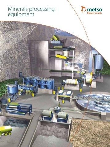 Brochure Minerals processing equipment EN - Metso