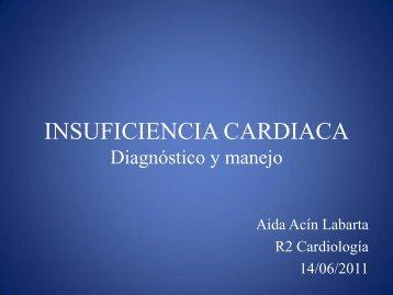 INSUFICIENCIA CARDIACA Diagnóstico y manejo - EXTRANET ...