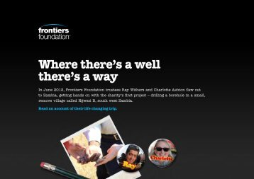 Where there's a well there's a way - Property Frontiers
