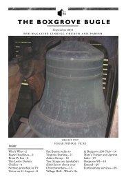 Boxgrove Bugle - Boxgrove Priory