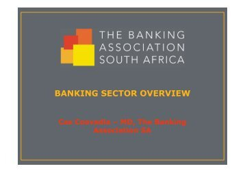 BANKING SECTOR OVERVIEW - Epic Communications