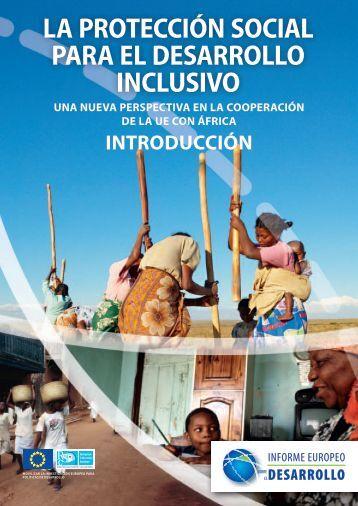LA PROTECCIÓN SOCIAL PARA EL DESARROLLO INCLUSIVO
