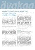 LISÄÄ VAKAUTTA AFRIKKAAN - European Report on Development - Page 7