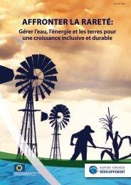 AFFRONTeR lA RAReTé: - European Report on Development