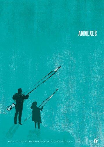 ANNEXES - European Report on Development