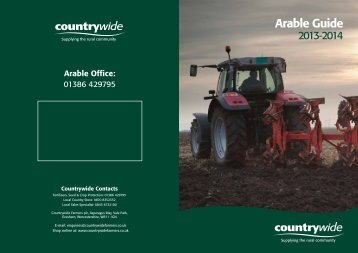 Arable Guide - Countrywide Farmers