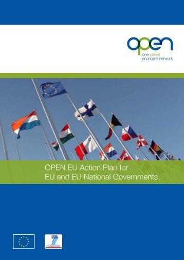 OPEN EU Action Plan for EU and EU National Governments