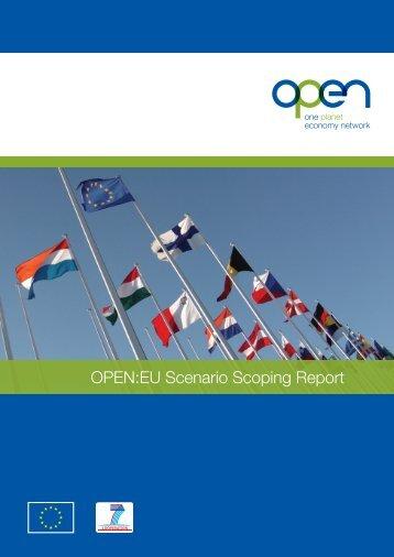 OPEN:EU Scenario Scoping Report - One Planet Economy Network