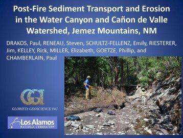 Post-Fire Sediment Transport and Erosion - Glorieta Geoscience, Inc.