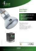 SolarStinger SunStrip - ECONLUX - Page 4