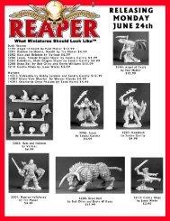06-24-07 Mailer - Reaper Miniatures