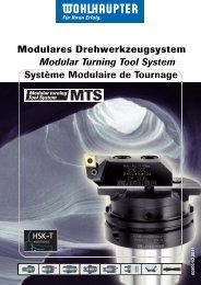 Modulares Drehwerkzeugsystem Modular Turning Tool System ...