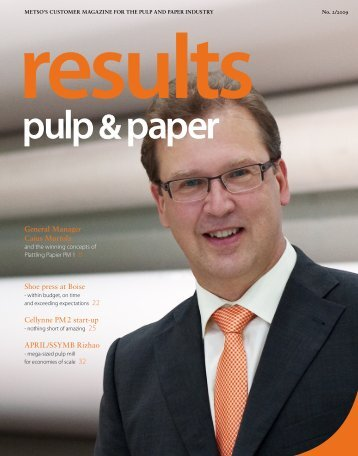 results pulp &paper - Metso