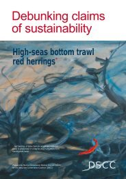 Debunking claims of sustainability - Marine Conservation Biology ...