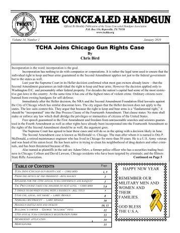 Newsletter Vol.6 No.1 (Jan-Feb) - Texas Concealed Handgun ...