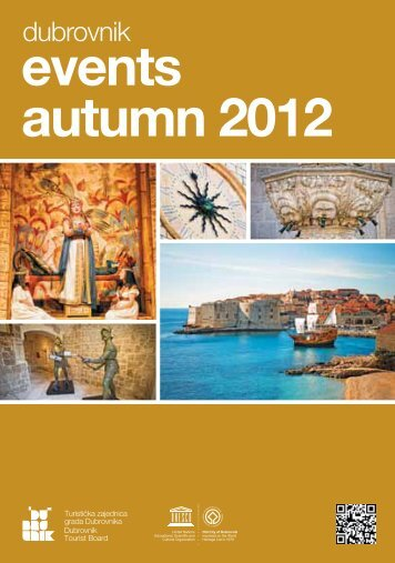 dubrovnik events autumn 2012 - Turistička zajednica grada ...