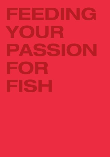 feeding your passion for fish