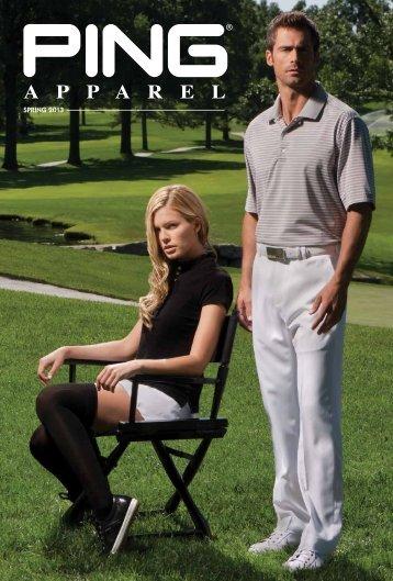Spring 2013 Catalog - PING Apparel