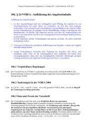 106. § 24 VOB/A - Aufklärung des Angebotsinhalts - Oeffentliche ...