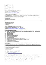 OÖ Familienbund Landesverband Hauptstraße 83 ... - Frauenreferat