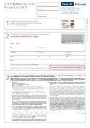 Kartenantrag öffnen (pdf) - Kreditkarte.at