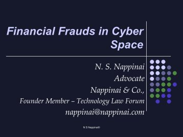 Financial Frauds in Cyber Space - The Associated Chambers of ...