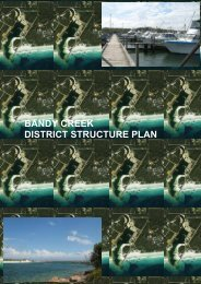 bandy creek district structure plan - Shire of Esperance - The ...