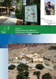 Chapter 3 Biosphere Reserves (BRs) and various types ... - Mio Ecsde