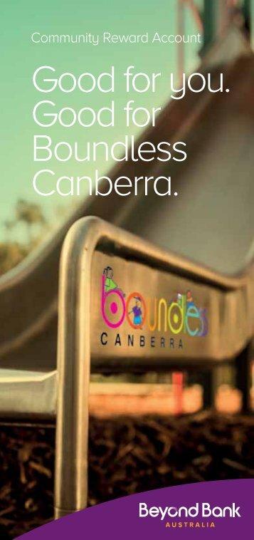 brochure - Boundless Canberra