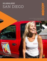 2012 Accion San Diego Annual Report
