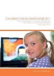 CHILDREN'S MEDIA BAROMETER 2011 - Mediakasvatus.fi