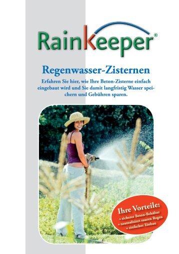Regenwasser-Zisternen