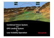 Combined Vision System GPS Landing System for Low Visibility ...
