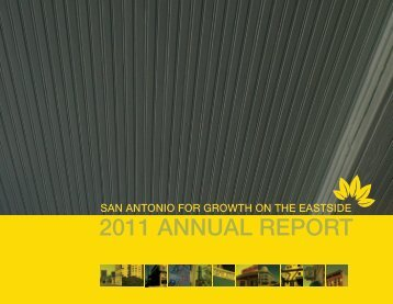 2011 ANNUAL REPORT - San Antonio for Growth on the Eastside