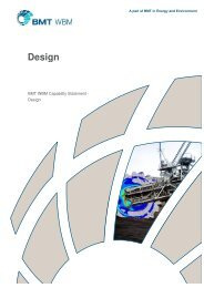 Capability Statement - Design - BMT Group