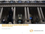 MERGERS & ACQUISITIONS REVIEW - LegalToday