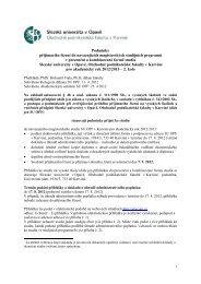 Podminky Nav 2 kolo PR 12_13-2.pdf - Slezská univerzita v Opavě