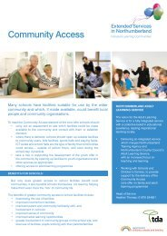 Community Access - Northumberland Extended Services
