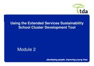 Module 2 - Northumberland Extended Services