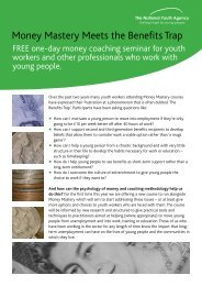 Money Mastery Meets the Benefits Trap - Northumberland Extended ...