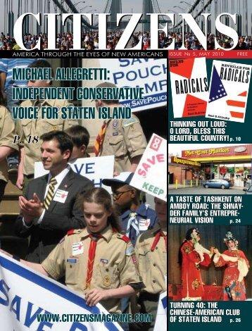 Michael allegretti: independent conservative voice for staten island