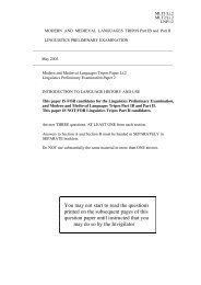 Old-format exam paper from 2003 (PDF file) - Ling.cam.ac.uk
