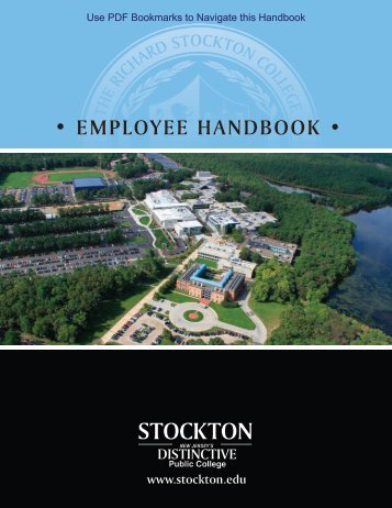 Employee Handbook - Stockton College