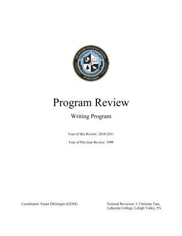 Writing Program - Stockton College
