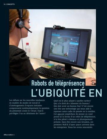 Robots de télépresence - Sebastien Rocq