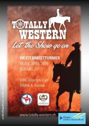 Programmheft Totally Western 18/19.04.2015