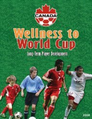 Wellness to World Cup - NWT Soccer Association